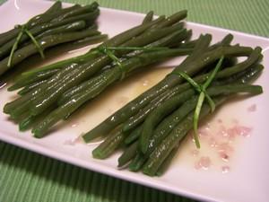 Haricots verts la vinaigrette plat du jour recettes - Cuisiner les haricots verts ...