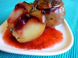 pommes aux airelles plat du jour recettes de cuisine entr es plats desserts. Black Bedroom Furniture Sets. Home Design Ideas