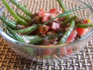 Haricots verts aux lentilles plat du jour recettes de - Cuisiner les haricots plats ...