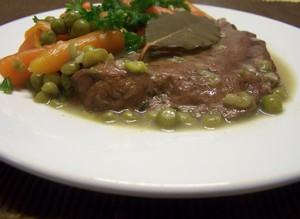 Foie de veau jardini re plat du jour recettes de cuisine entr es plats desserts - Cuisiner le foie de veau ...