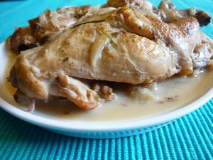 Lapin sauce l oseille plat du jour recettes de - Cuisiner le lapin en sauce ...