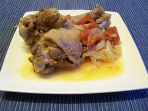 Manchons de canard aux tomates plat du jour recettes - Comment cuisiner des manchons de canard ...