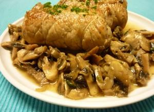 Paupiette de veau aux champignons plat du jour - Cuisine paupiette de veau ...