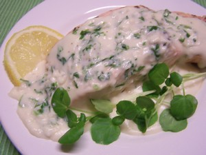 Saumon sauce citron plat du jour recettes de cuisine entr es plats desserts - Comment cuisiner du saumon surgele ...
