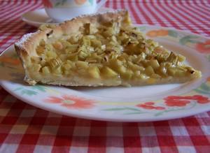 Tarte la rhubarbe l ancienne plat du jour recettes de cuisine entr - Brabantia cuisiner a l ancienne ...